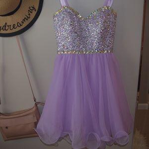 Lavender Prom/HOCO dress